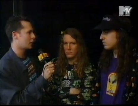 George Berz & J Mascis - MTV UK 1994