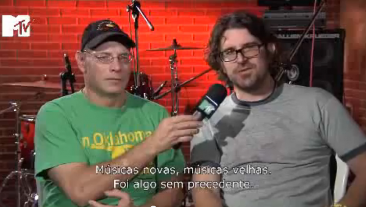 Dinosaur Jr mtv brasil 2010 interview