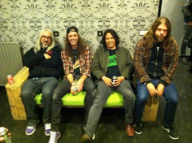 Earthless Meets Heavy Blanket - J Mascis, Graham Clise, Mario Rubalcaba & Mike Eginton