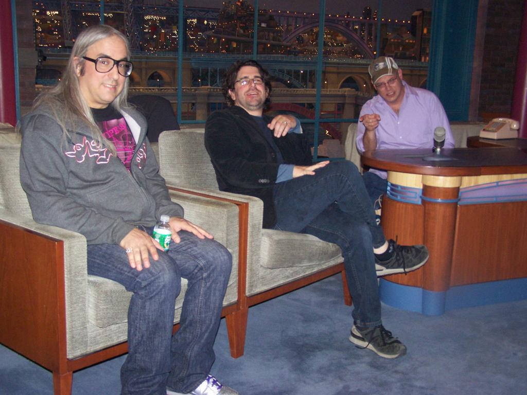 Dinosaur Jr on the David Letterman Set