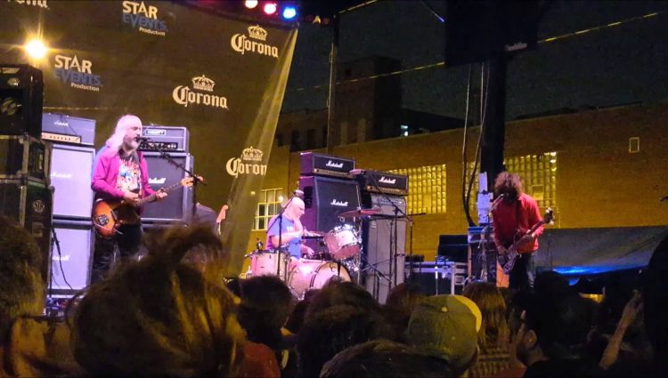Dinosaur Jr Taste of Randolph Chicago ; 6-19-2015