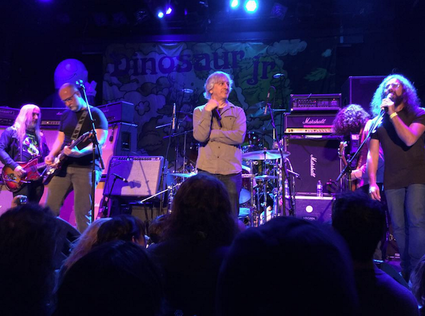 Dinosaur Jr with Bob Mould, Lee Ranaldo & Matt Valentine